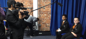 Year 9 filming with Northern Film School