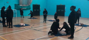 Year 7s learn first aid and CPR