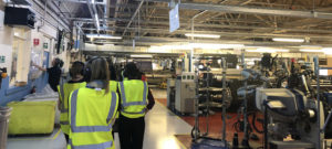 Visiting Burberry Mill in Keighley