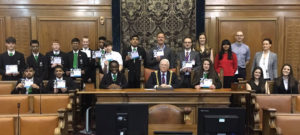 Year 10 graduate from Ahead Partnership Business Mentoring programme