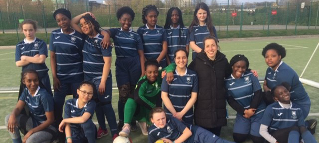Our Girls Football Team are succeeding together