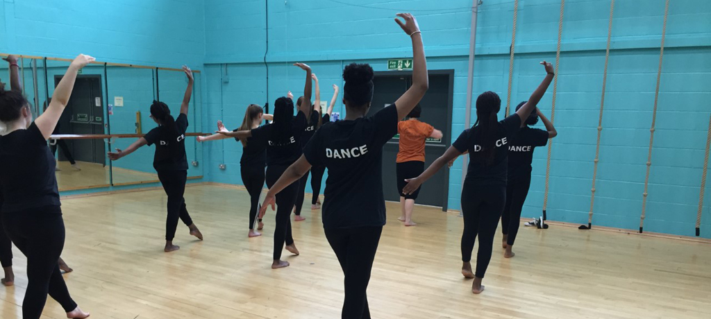 Northern School of Contemporary Dance workshop with Year 10