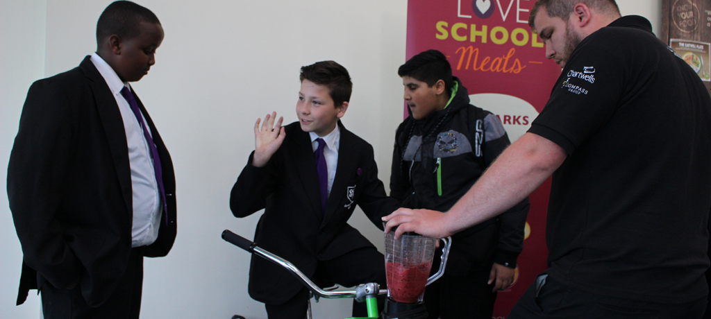 Smoothie Bike with Chartwells