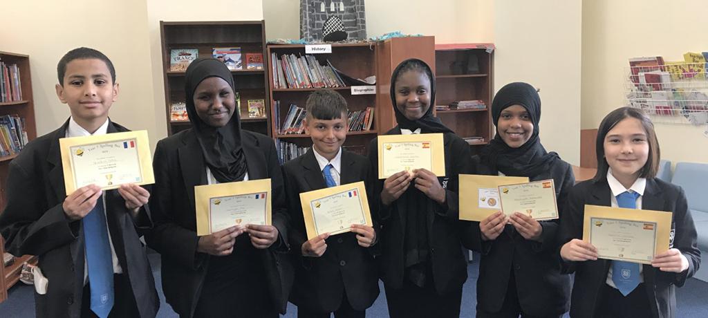 Our MFL Spelling Bee Winners!
