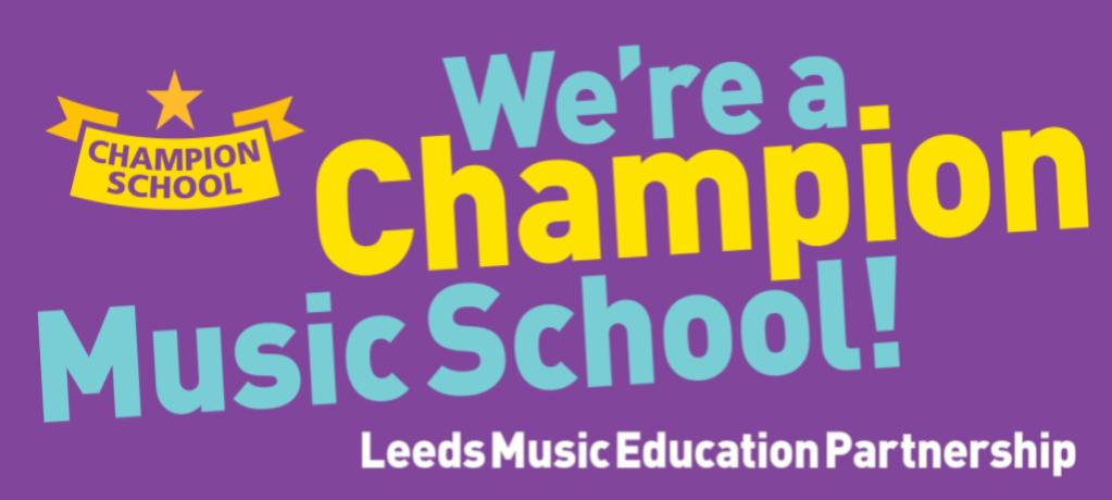 We're a LMEP Music Champion School